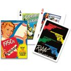 Themed Conversation Playing Cards: 1950s