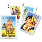 Themed Conversation Playing Cards: Saucy Seaside