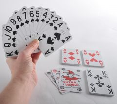 Low Vision Playing Cards (1 pack)