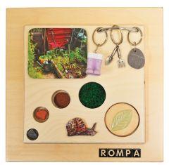 Reminiscence Tactile Squares - Gardening