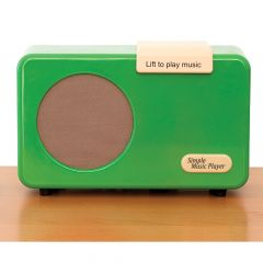 Simple Music Player in Red or Green