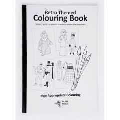 Retro-Themed Colouring Book - General
