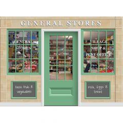 Triple Drop Mural - General Store
