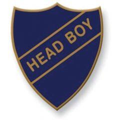 Retro School Badge - Head Boy Badge