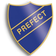 Retro School Badge - Prefect Badge