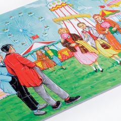 Family Scene Jigsaw - Fairground