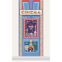 Single Drop Mural - Cinema