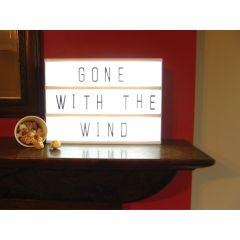 Cinema Light Up Sign