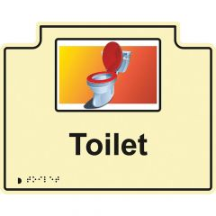 Room Sign - Toilet