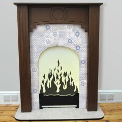 Faux Flame 'Fireplace'