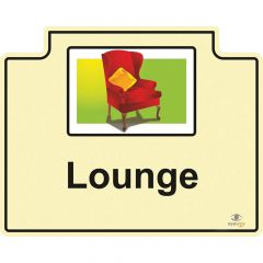 Room Sign - Lounge