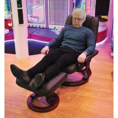 Massage Chair and Foot Rest Set