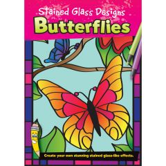 Stained Glass Designs Butterflies