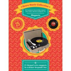 Deluxe Magnet Box Set - Retro Music Collection
